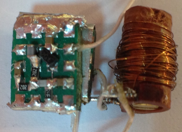 Радиоприемник из подручных материалов схемы 96