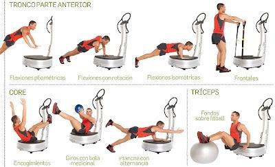 ejercicios faciles sobre plataforma vibratoria
