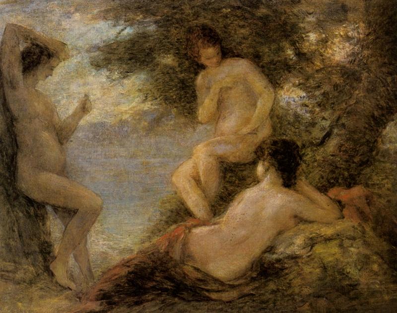 The Nymphs | Henri Fantin-Latour 1836-1904 | French Symbolist painter