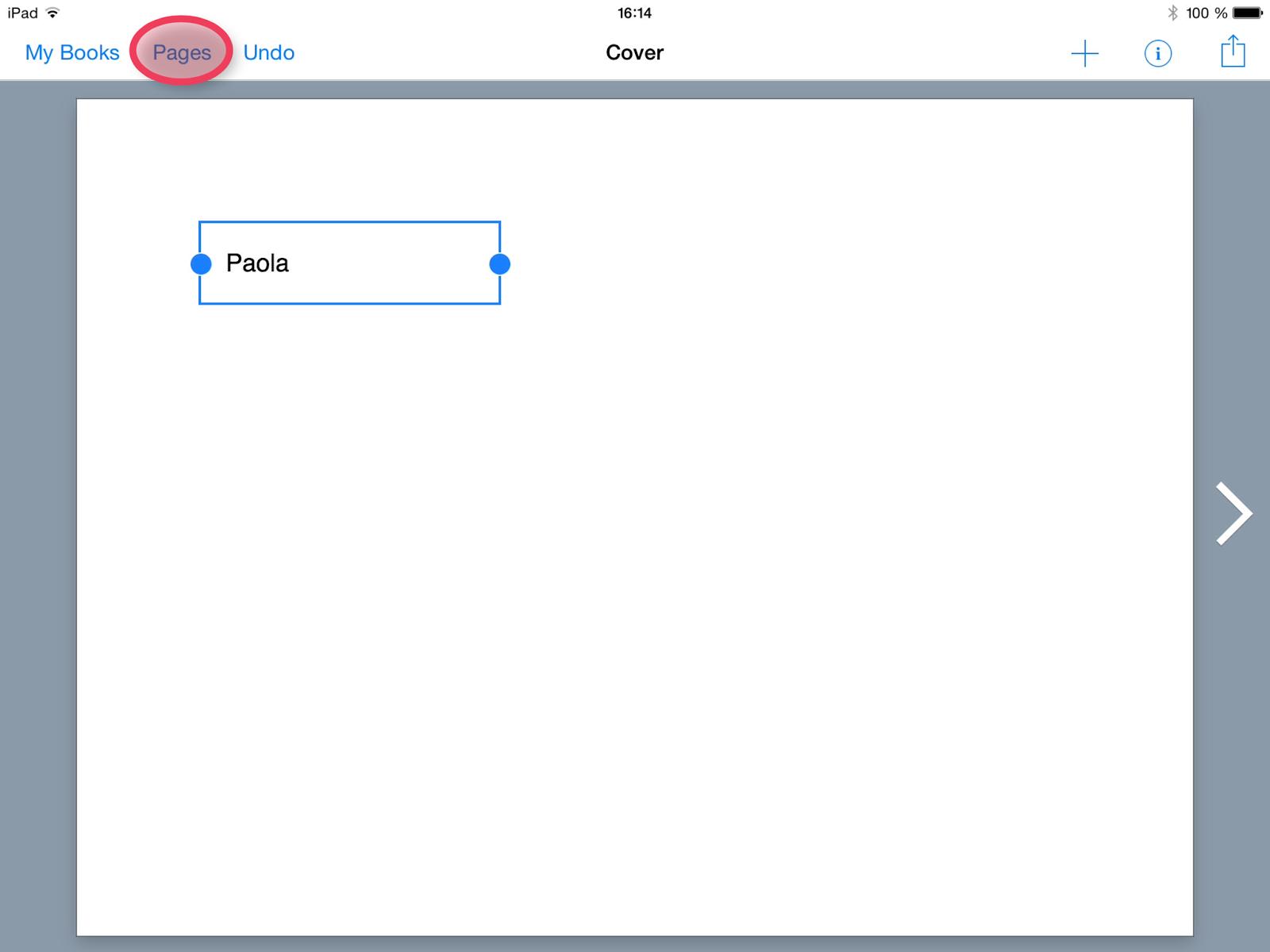 pour gérer toutes les pages du ebook