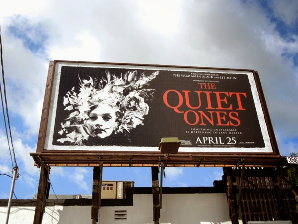 The Quiet Ones movie billboard