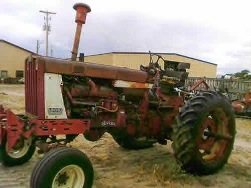 International 806 tractor parts