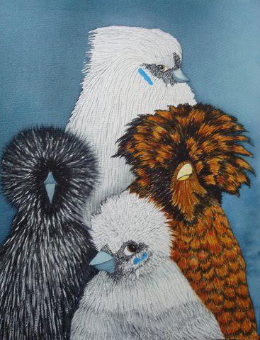 Fine Poultry Art