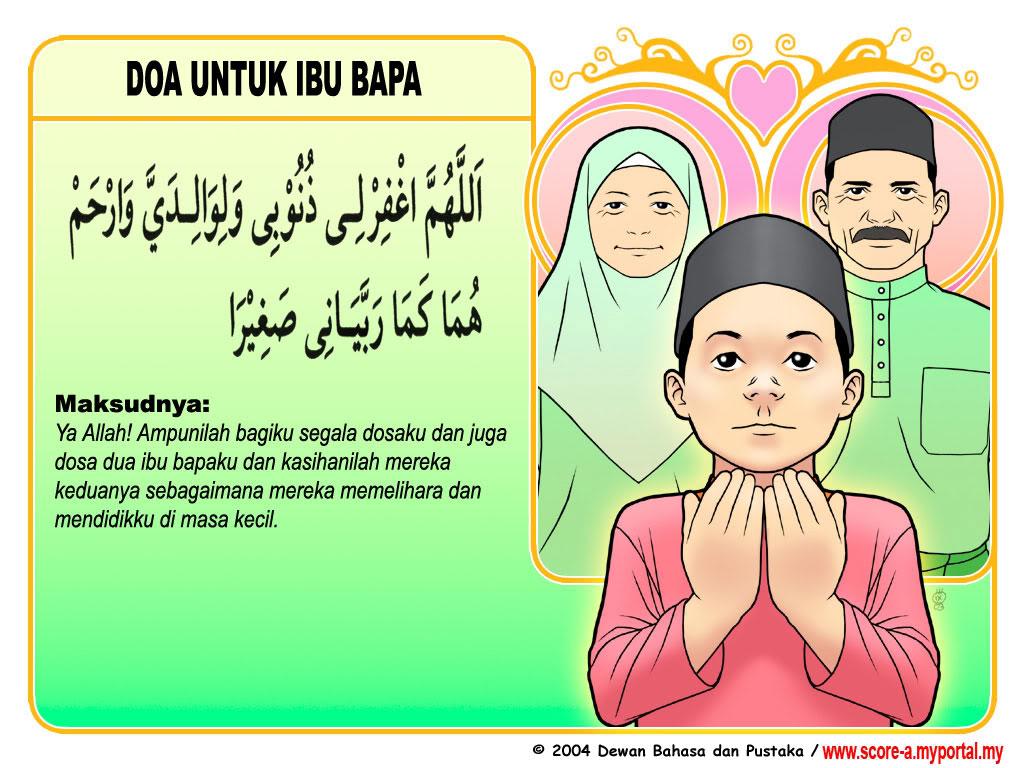 ini merupakan kumpulan dari beberapa doa Untuk kedua orang tua / ibu ...