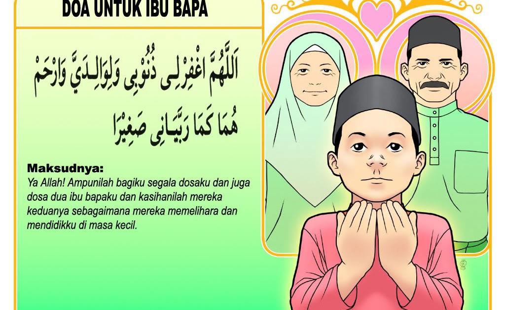 bersihkan hati doa untuk kedua orang tua