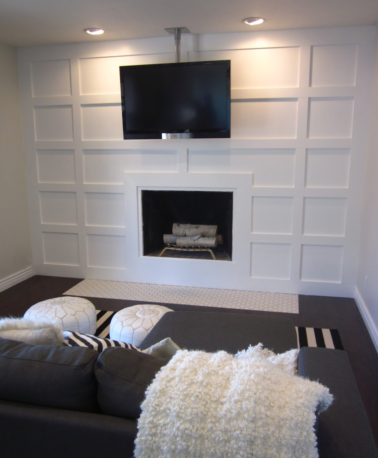 honey i u0027m home a fabulous fireplace wall update