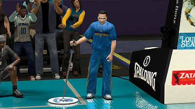 NBA 2K13 New Orleans Hornets Janitor Clothes Fix