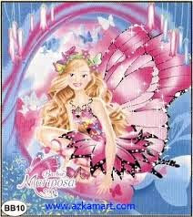 Grosir Selimut New Seasons Blanket barbie mariposa
