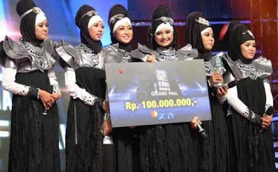 Girlband Sunni, Girlband Berjilbab Pertama di Indonesia
