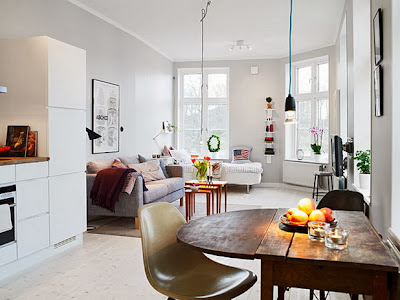 Decorar um apartamento muito pequeno