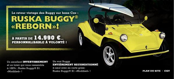 Ruska Buggy, buggy VW