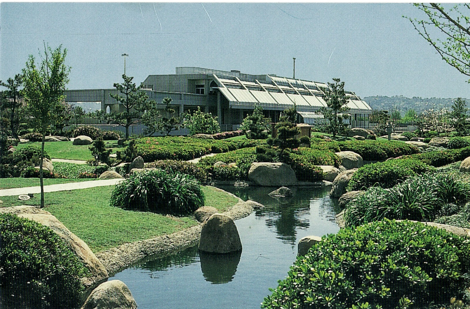 Japanese garden at the donald c tillman water reclamation for Japanese water plants