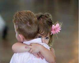 Doe um abraço...