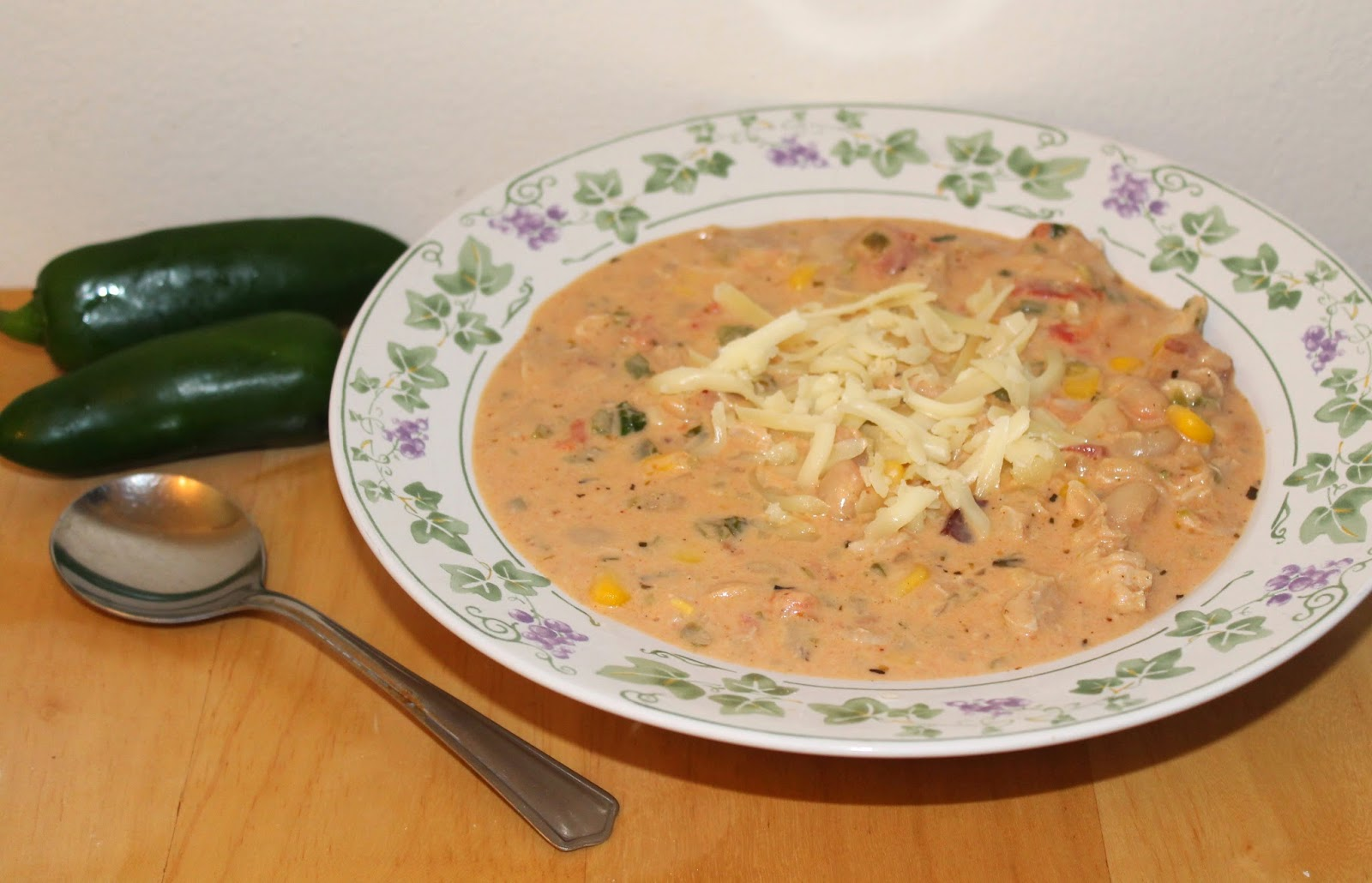 Savory Moments: Jalapeno popper chicken chili