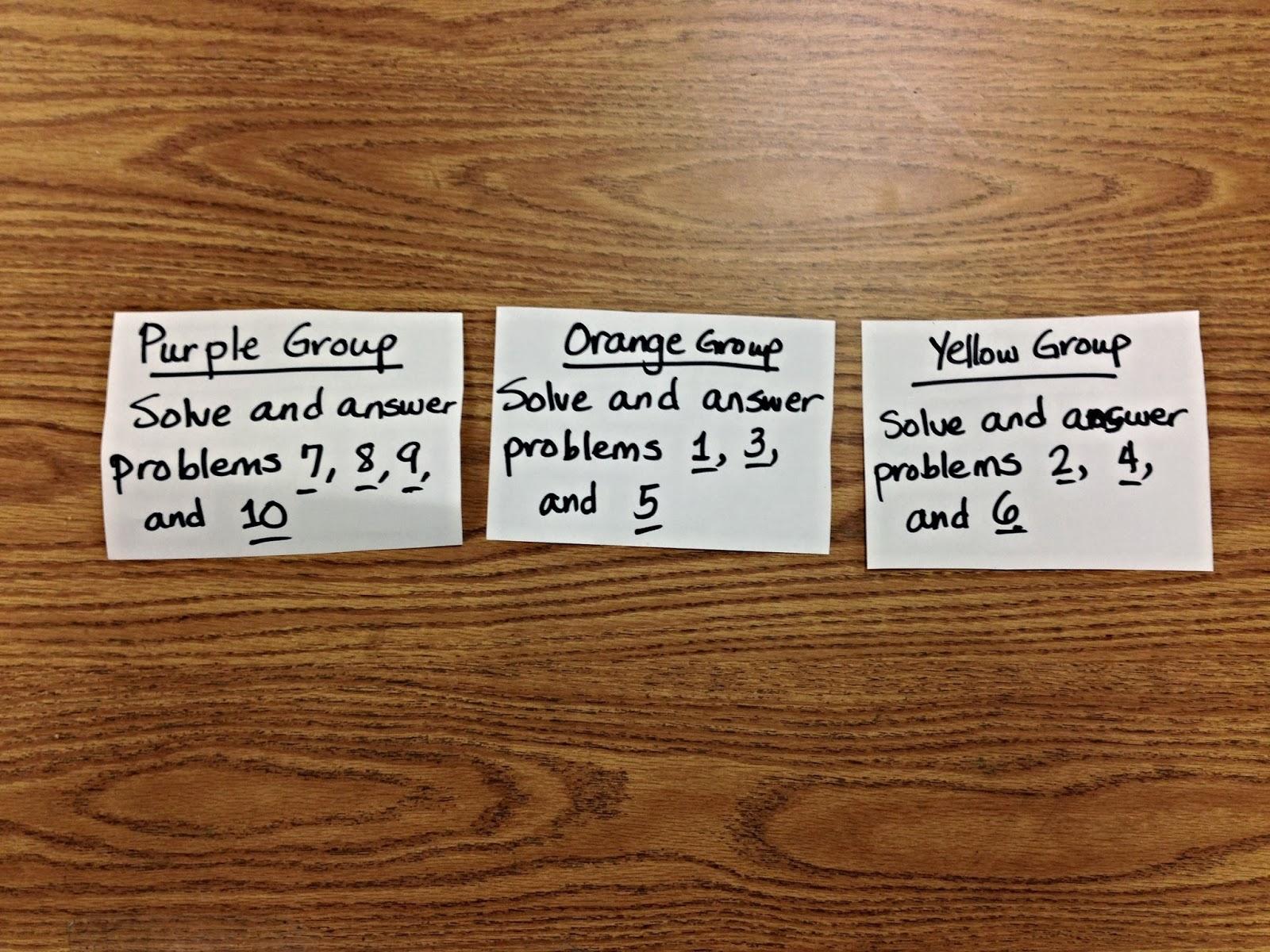 life and pancakes: Make Math Fun: Word Problem Scavenger Hunt