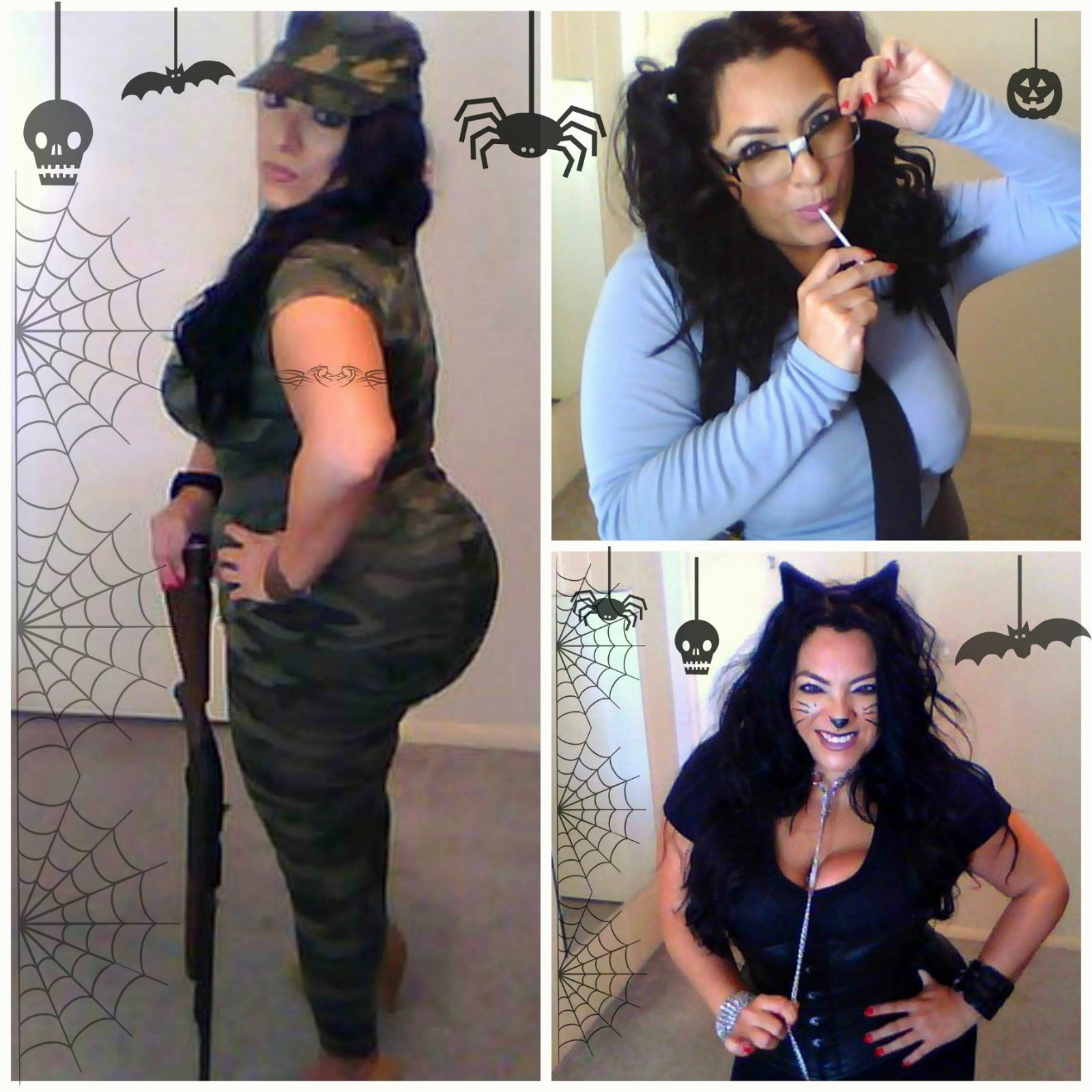 Hello ladies check out my video below for some simple easy DIY Halloween costumes. These ideas are sexy fun and Plus size friendly.  sc 1 st  Beautyundergradu0027s Blog & Beautyundergradu0027s Blog : SEXY COSTUME IDEAS