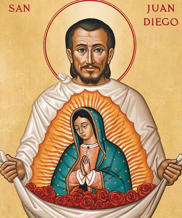 12/9: St. Juan Diego, 1538: Seer of Our Lady of Guadalupe