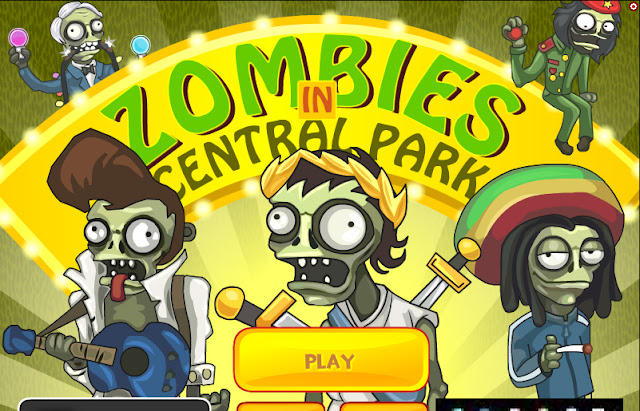 zombies in central park, download free game