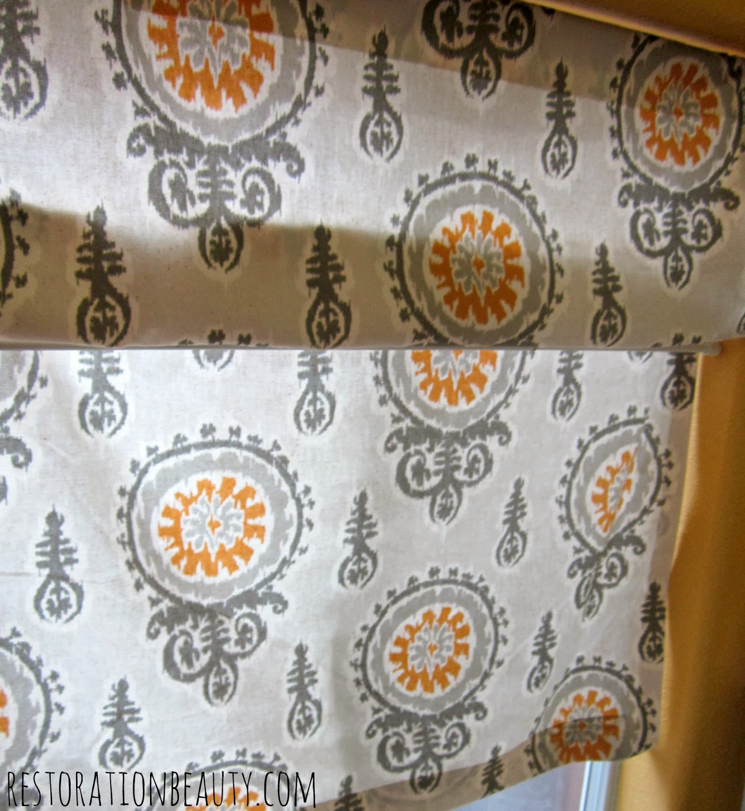 Ro Ro Roman Shade Curtain Patterns - 8 grab more fabric and pull it over the second rod