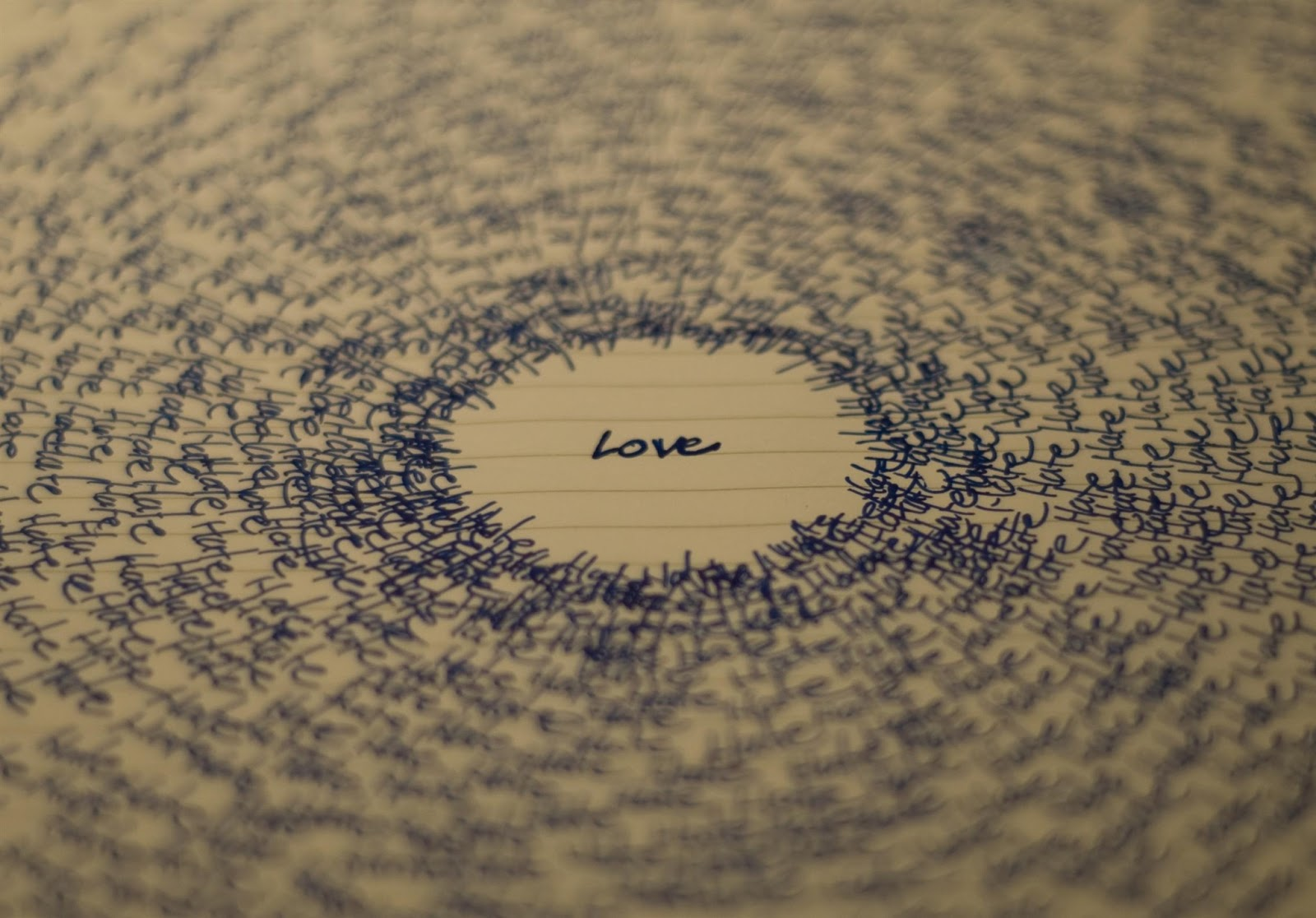 love note for her