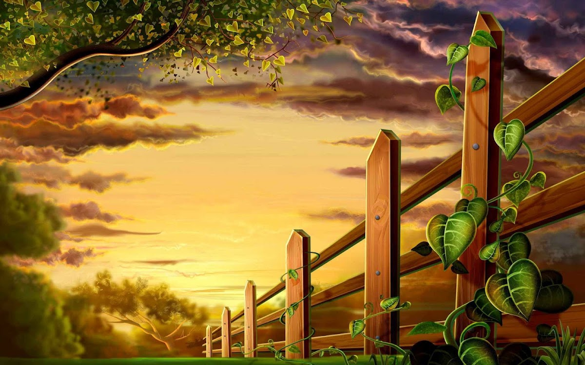 Digital Drawing Widescreen HD Wallpaper 47