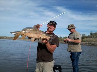 American Falls Reservoir Bowfishing