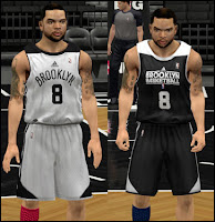 NBA 2K13 Brooklyn Nets Practice Jersey Patch
