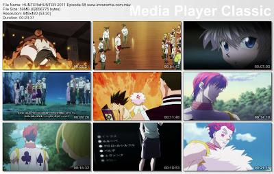 """Download Film / Anime Hunter x Hunter 2011 Episode 68 """"Pembajak dan Perkiraan-Perkiraan"""" Bahasa Indonesia"""