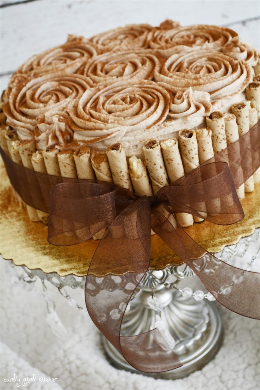 Pirouette cake recipe