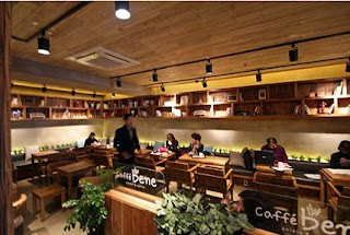 caffe bene sets themselves apart by being different