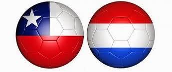 Holanda 2 - 0 Chile. Grupo B
