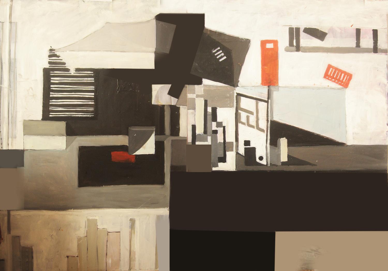 malarstwo olejne ciekawa martwa natura abstrakcja abstrakcyjna  kompozycja Urbaniak
