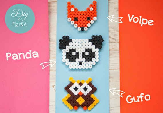 Calamite Hama Beads tutorial in italiano