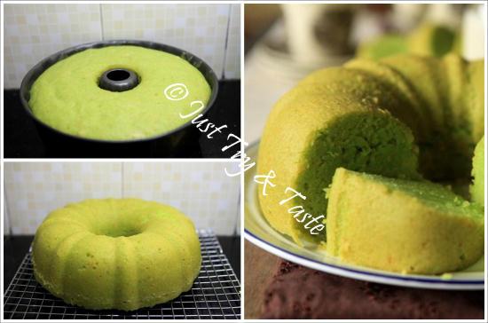Resep Cake Tape Pandan Keju Kukus JTT