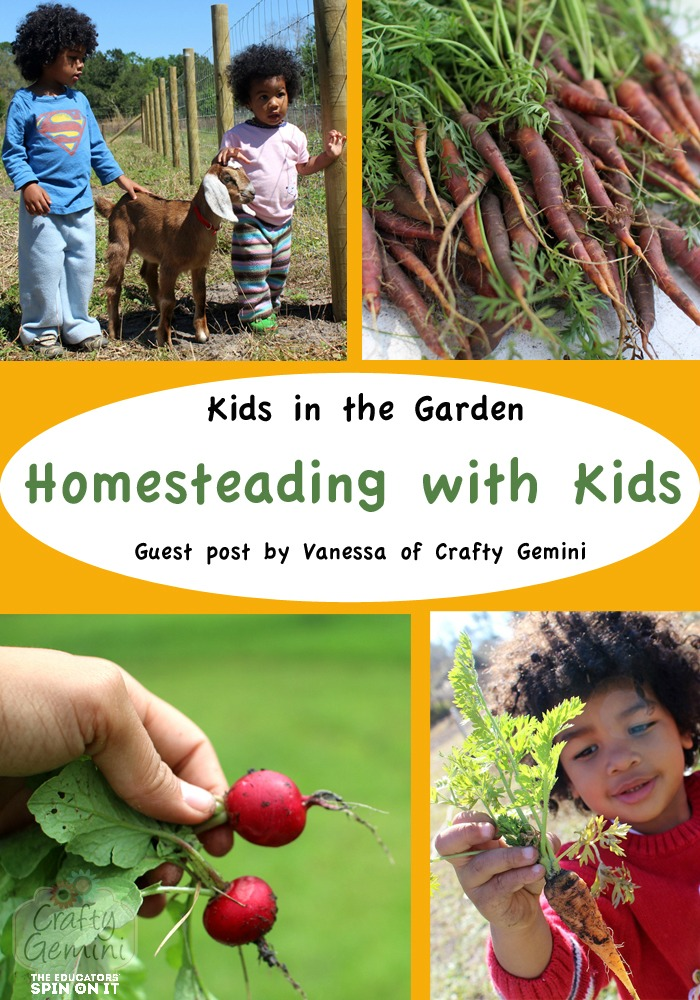 Homesteading with kids, teaching self-sufficiency to preschoolers