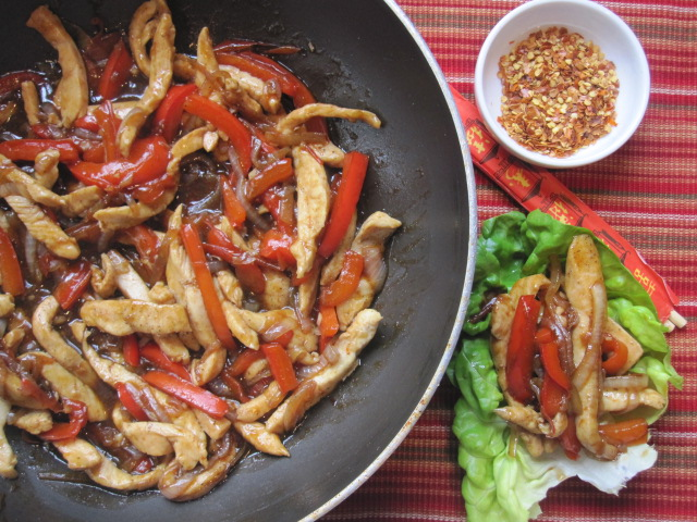 Everyday Cooking: Chicken Stir-Fry Lettuce Wraps