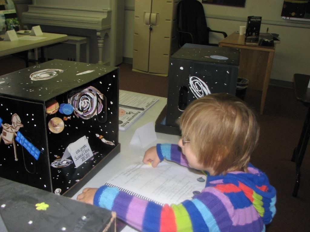 box solar system model - photo #32