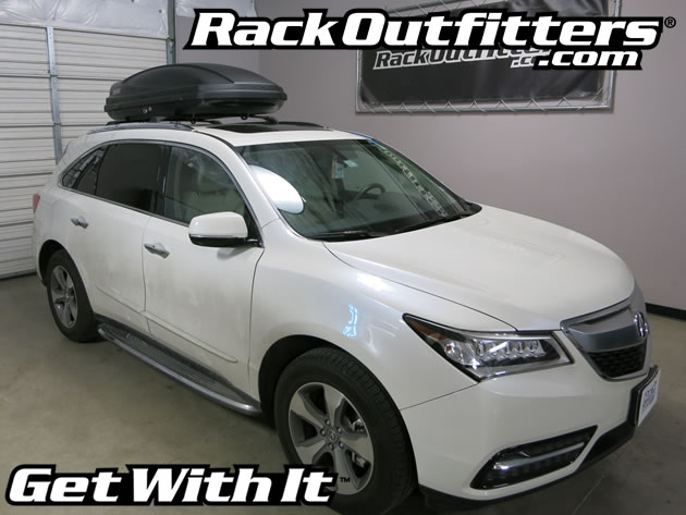 acura mdx thule 624 force m medium 13 cubic foot roof top cargo rh rackoutfitters blogspot com 2013 Acura MDX Acura MDX Trunk