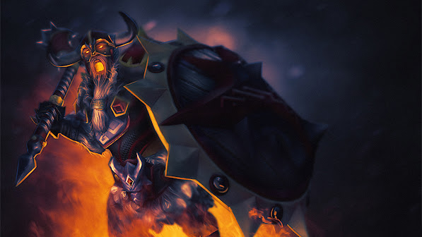 chaos knight art set dota 2 hero hd wallpaper