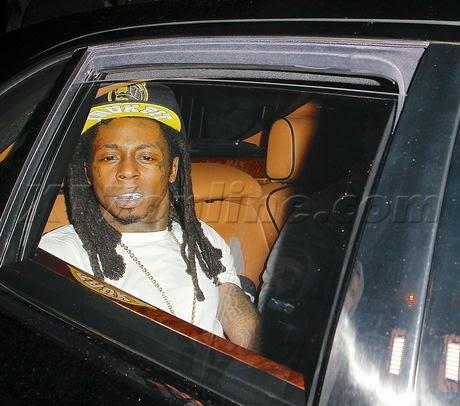 fotos de lil wayne y mack maine fumados saliendo club hollywood