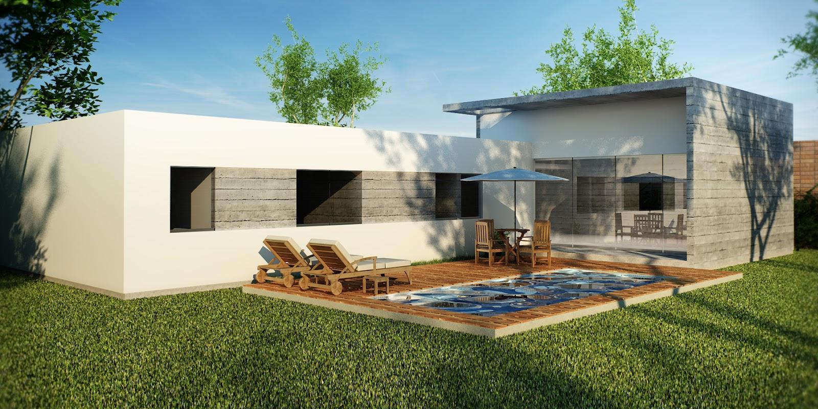 La forma moderna en latinoam rica casas de campo - Fotos de casas en forma de l ...