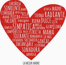 Frases Dia De La Madre: Cariñosa Sonriente Mami