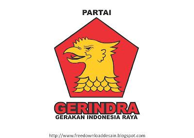 Download Logo Partai Gerindra CDR