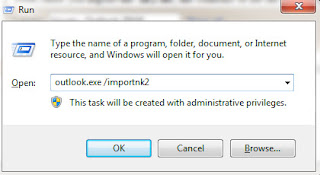Import .nk2 files into Outlook 2010