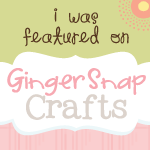 Ginger Snap Crafts Feature