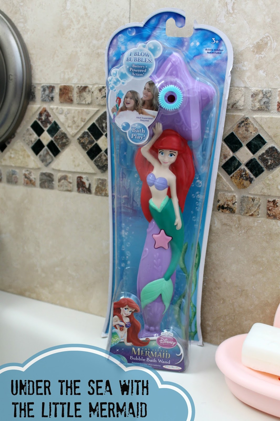 Little mermaid bathroom