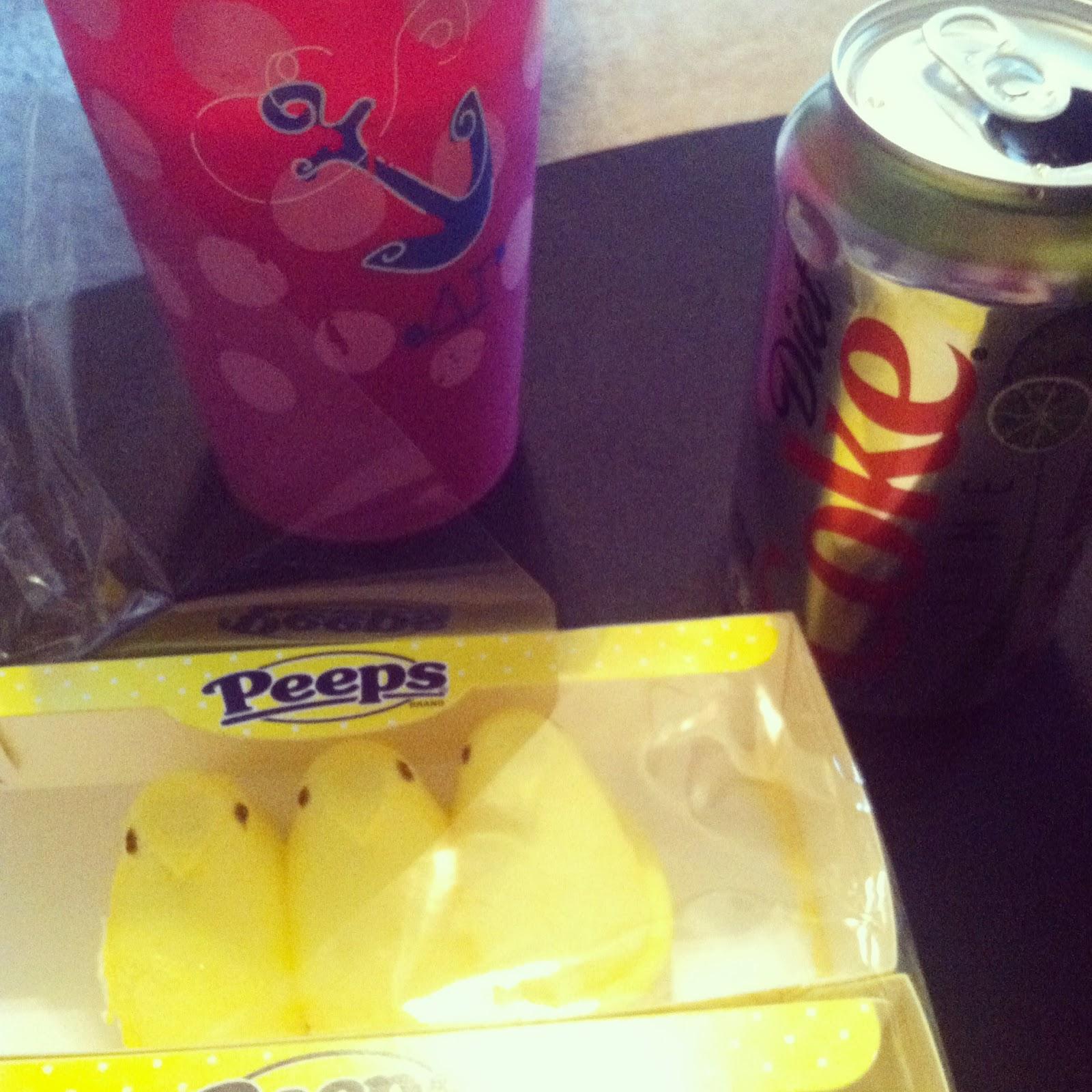 Peeps diet coke Delta Gamma
