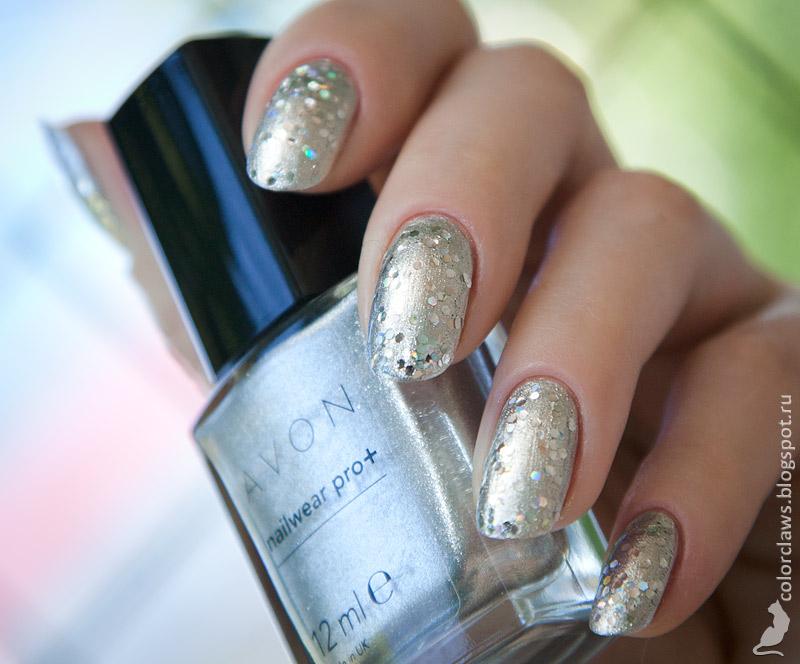 Avon Starry Sky + Orly Holy Holo