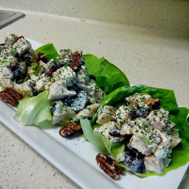 Mayo-LESS Chicken Salad
