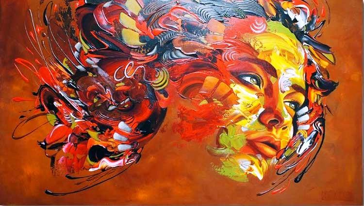 Pintura Moderna Y Fotograf A Art Stica Nuevos Y